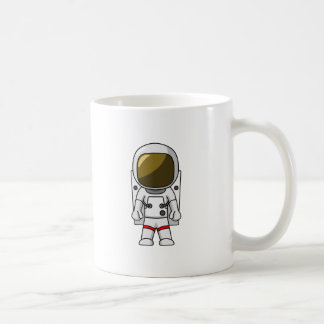 Cartoon Astronaut Coffee Mug
