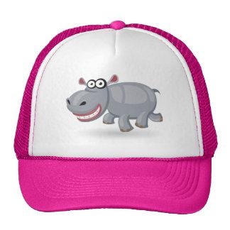 Cartoon baby Hippo Cap