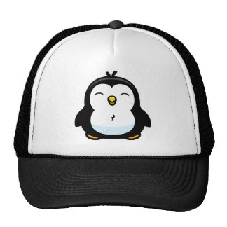 Cartoon Baby Penguin Trucker Hat