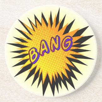 Cartoon Bang Coaster