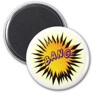 Cartoon Bang Magnet