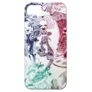 Cartoon Barely There iPhone 5 Case