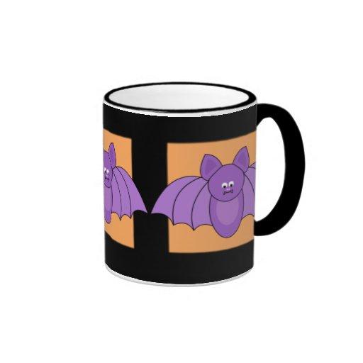 Cartoon Bats Halloween Mug