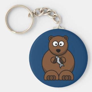 Cartoon Bear Key Ring