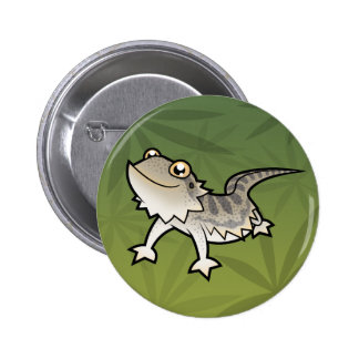 Cartoon Bearded Dragon / Rankin Dragon Pin