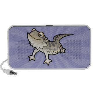 Cartoon Bearded Dragon / Rankin Dragon Notebook Speakers