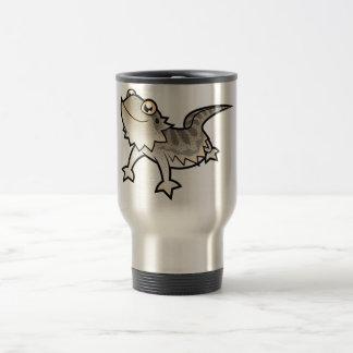 Cartoon Bearded Dragon / Rankin Dragon Stainless Steel Travel Mug