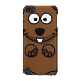 Cartoon Beaver Face iPod Touch 5G Case