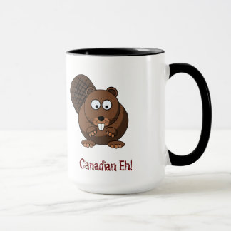 Cartoon Beaver Mug