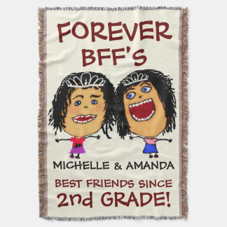 Cartoon Best Friend BFFs