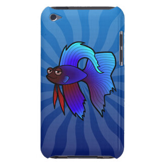 Cartoon Betta Fish / Siamese Fighting Fish Barely There iPod Covers