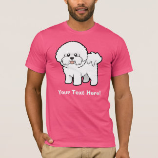 Cartoon Bichon Frise T-Shirt