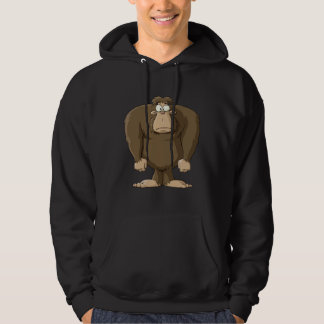 Cartoon Bigfoot Hoodie