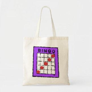 Cartoon Bingo Card design bag