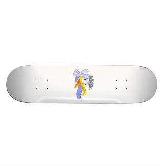 Cartoon Bird Flashing the Peace Sign Skate Board Decks