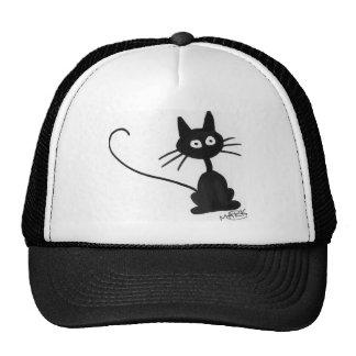 Cartoon Black Cat Hats