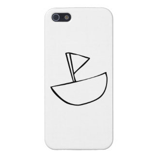Cartoon Boat iPhone 5/5S Covers