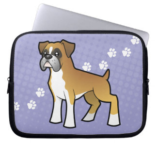 Cartoon Boxer Laptop Sleeve