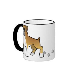 Cartoon Boxer Coffee Mug