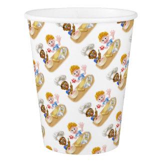 Cartoon Boys Baking Paper Cup