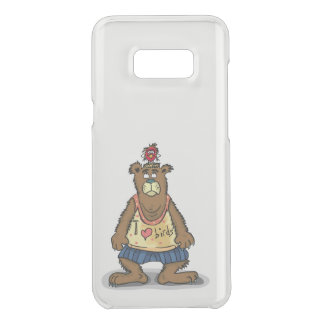 Cartoon Brown bear standing on his back feet Uncommon Samsung Galaxy S8 Plus Case