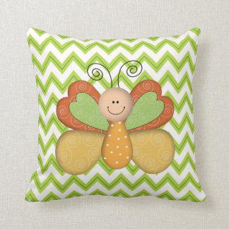Cartoon Bug Kids Room Pillow