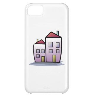 Cartoon Buildings iPhone 5C Case