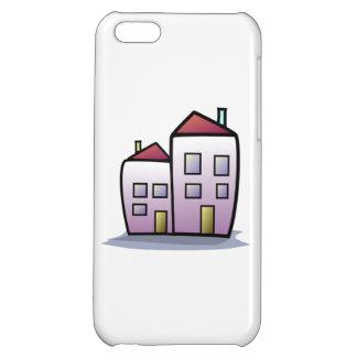 Cartoon Buildings iPhone 5C Cover