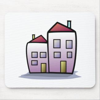 Cartoon Buildings Mousepad