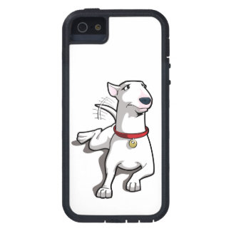 Cartoon Bull Terrier Case