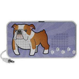 Cartoon Bulldog Mini Speakers