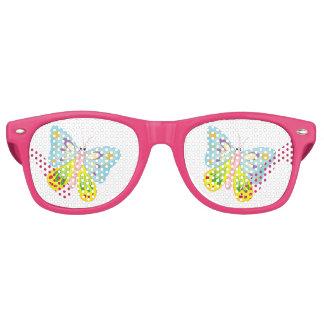 Cartoon Butterfly Retro Sunglasses