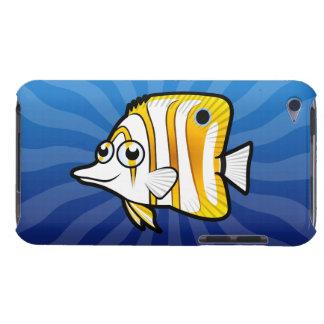 Cartoon Butterflyfish iPod Case-Mate Case
