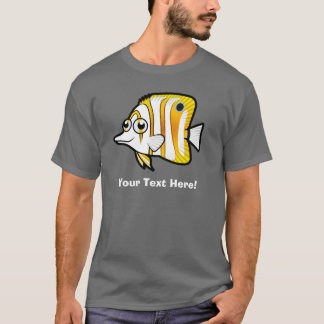 Cartoon Butterflyfish T-Shirt