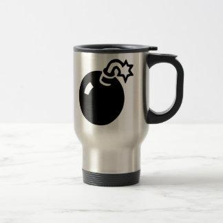 Cartoon Cannonball Coffee Mugs