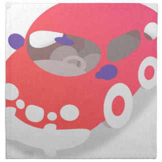 Cartoon Car Napkin