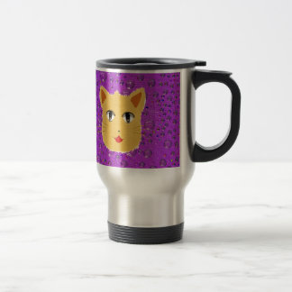 Cartoon Cat Coffee Mug