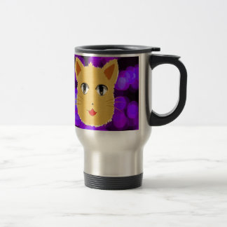 Cartoon Cat Stainless Steel Travel Mug