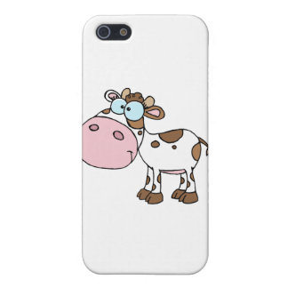 Cartoon Character Calf Different Color White iPhone 5 Case