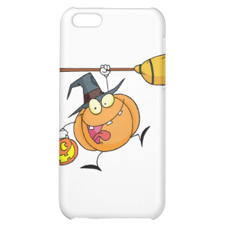 Cartoon Character Halloween Happy Pumkin with a br iPhone 5C Covers