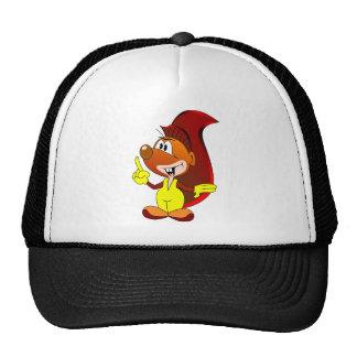 cartoon character trucker hat