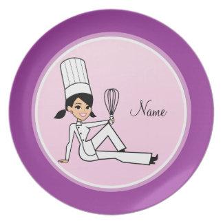 Cartoon Character Plate
