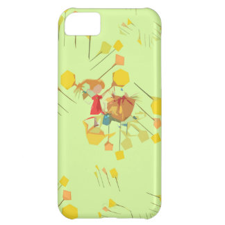 cartoon character  shapes iPhone 5C cover