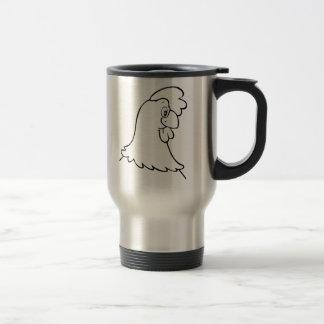 Cartoon Chicken Coffee Mug
