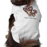 Cartoon Chihuahua (long coat) Dog Clothes