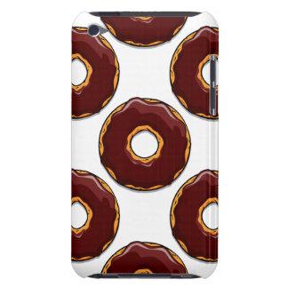 Cartoon Chocolate Donut Design iPod Case-Mate Case