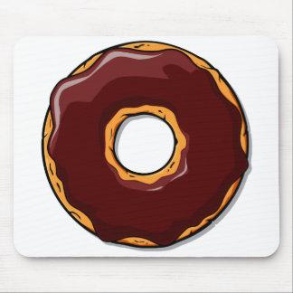 Cartoon Chocolate Donut Design Mouse Pad