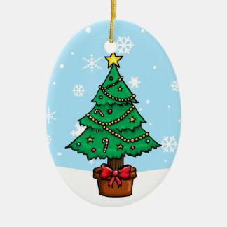 christmas tree decoration cartoon - photo #47