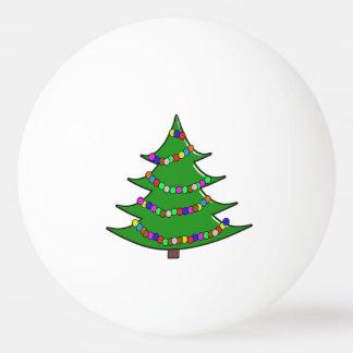 Cartoon Christmas Tree Ping Pong Ball