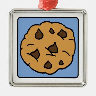 Cartoon Clip Art Chocolate Chip Cookie Dessert Christmas Ornaments